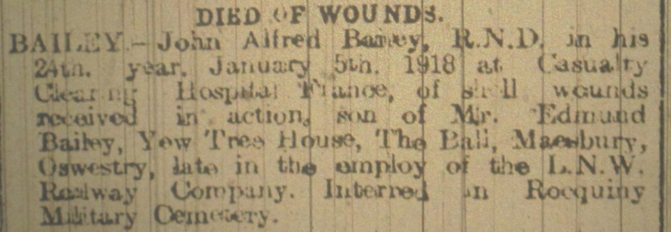 OSW-Bailey-John Alfred Bailey - death - 1