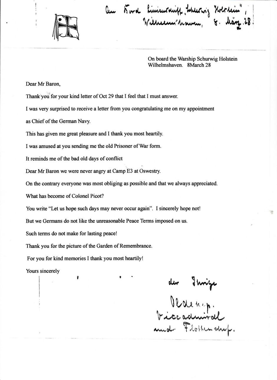 OSW-Henlle-Reuter - Letter