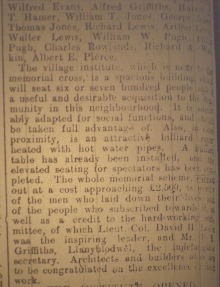 OSW-WM-Blodwel  Oct 05 1921 - 2