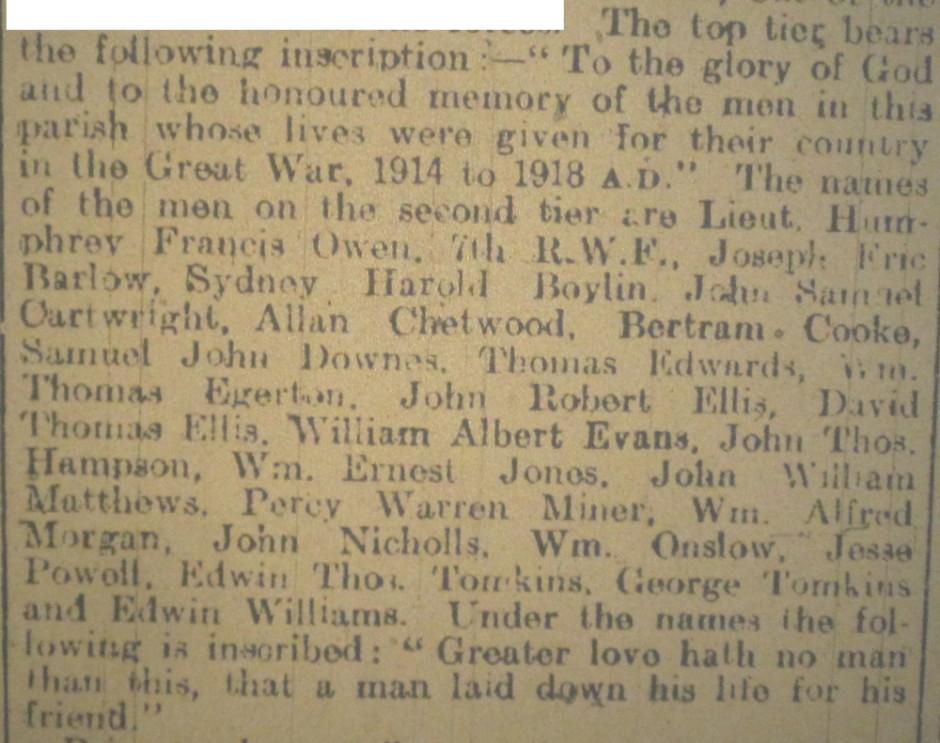OSW-WM-Criftins  Oct 20 1920 - 2