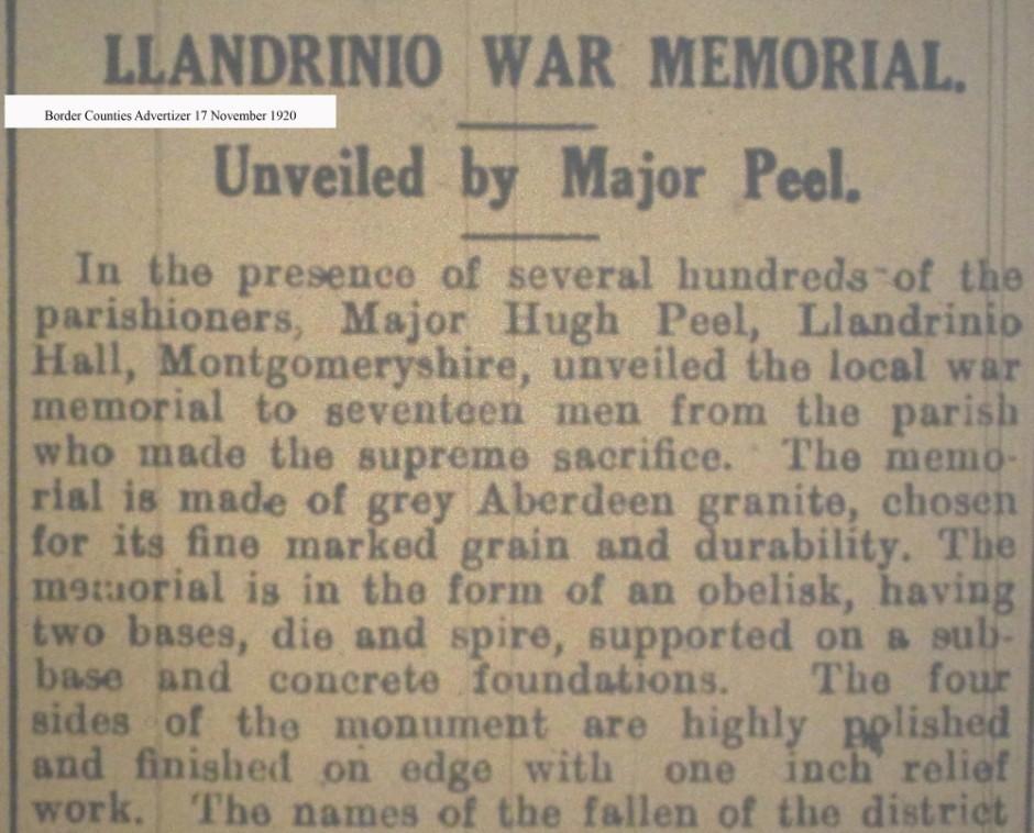 OSW-WM-Llandrinio - Nov 17 1920 - 1