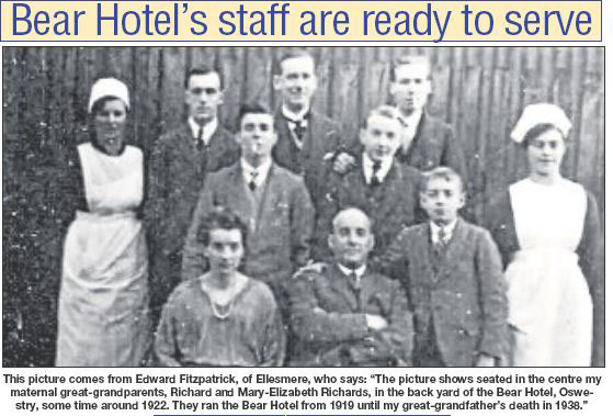PH-O-5-11-36 - Staff of the Bear Hotel c1922