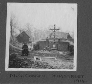 M G Corner - Plug Street 1914