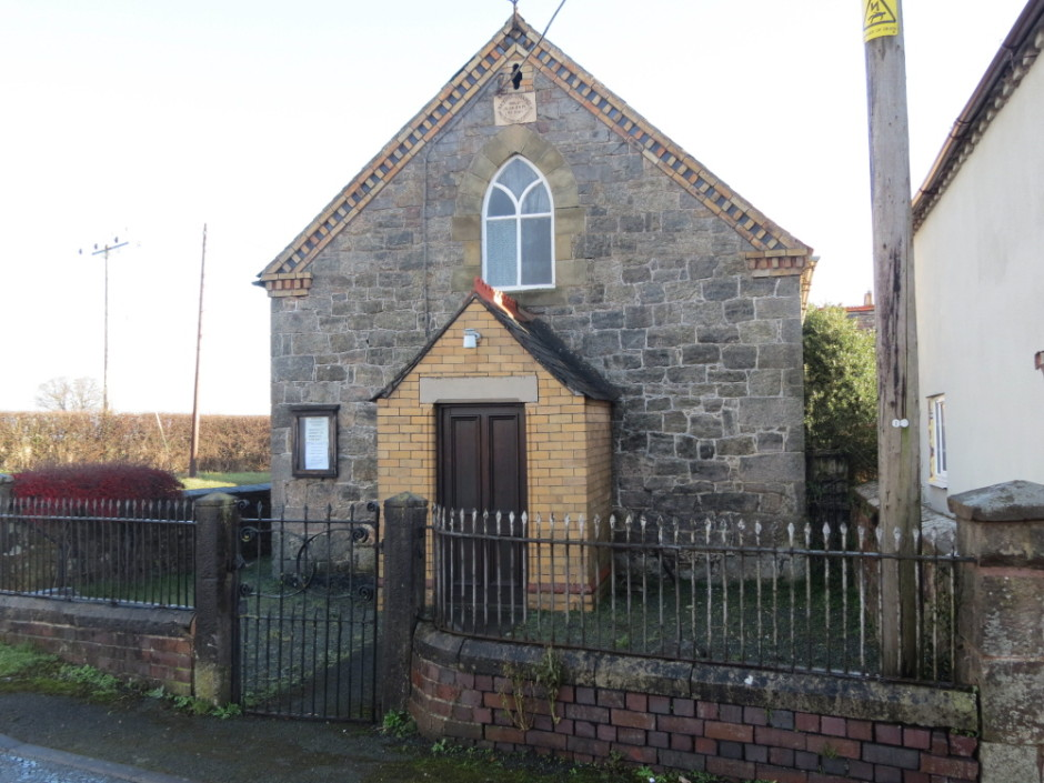 NM-L-104-1 - Llynclys Primitive Methodist Bethel Chapel 1838
