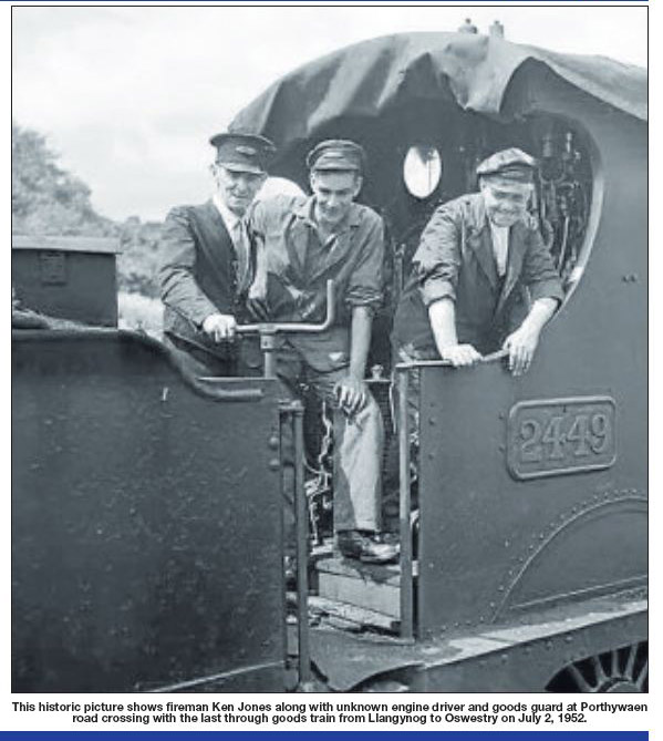 NP-O-5-16-69 - Last Train from Llangynog July 1952