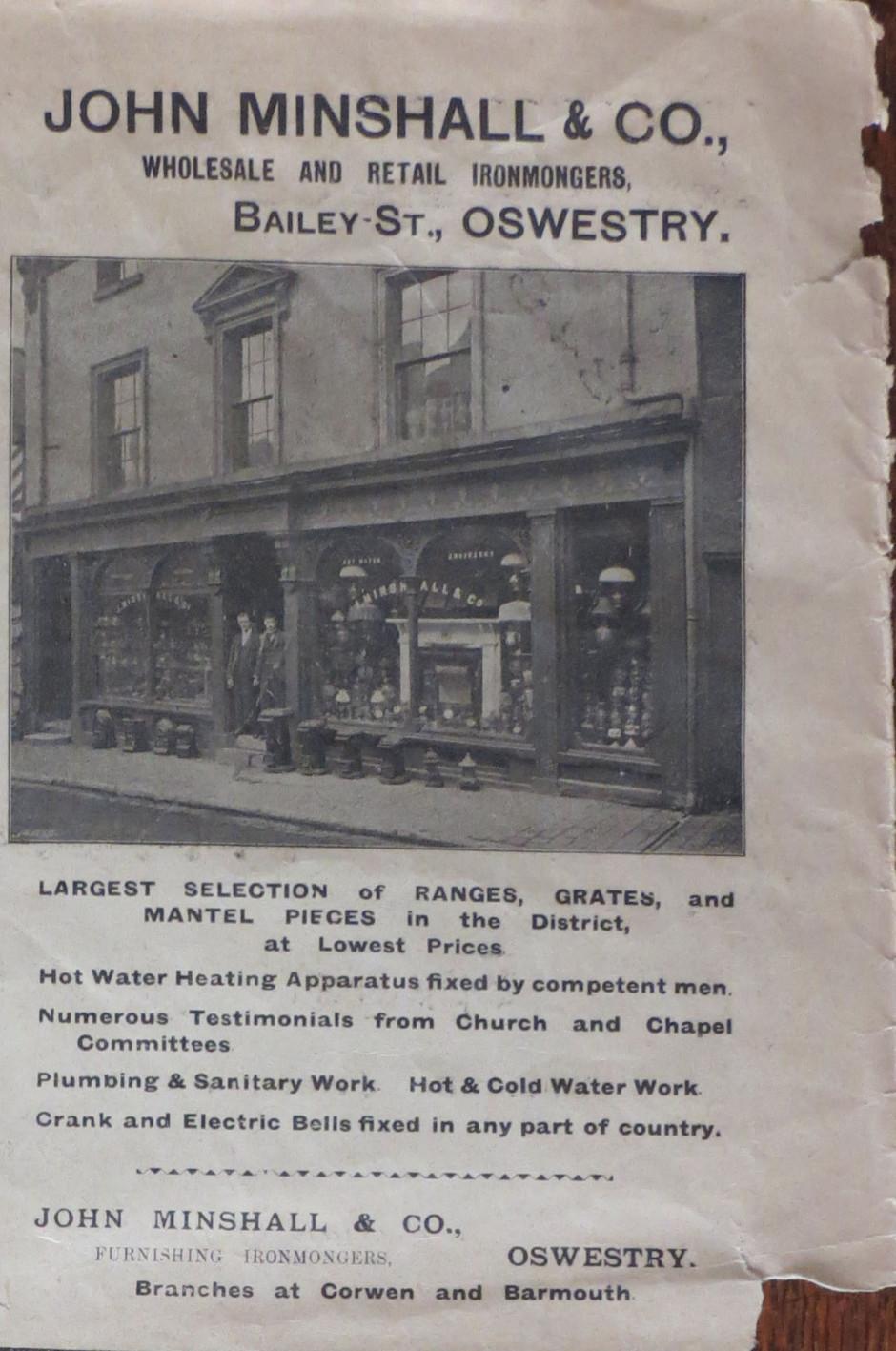 NP-O-5-3-23 - Minshall Ironmongers 1899