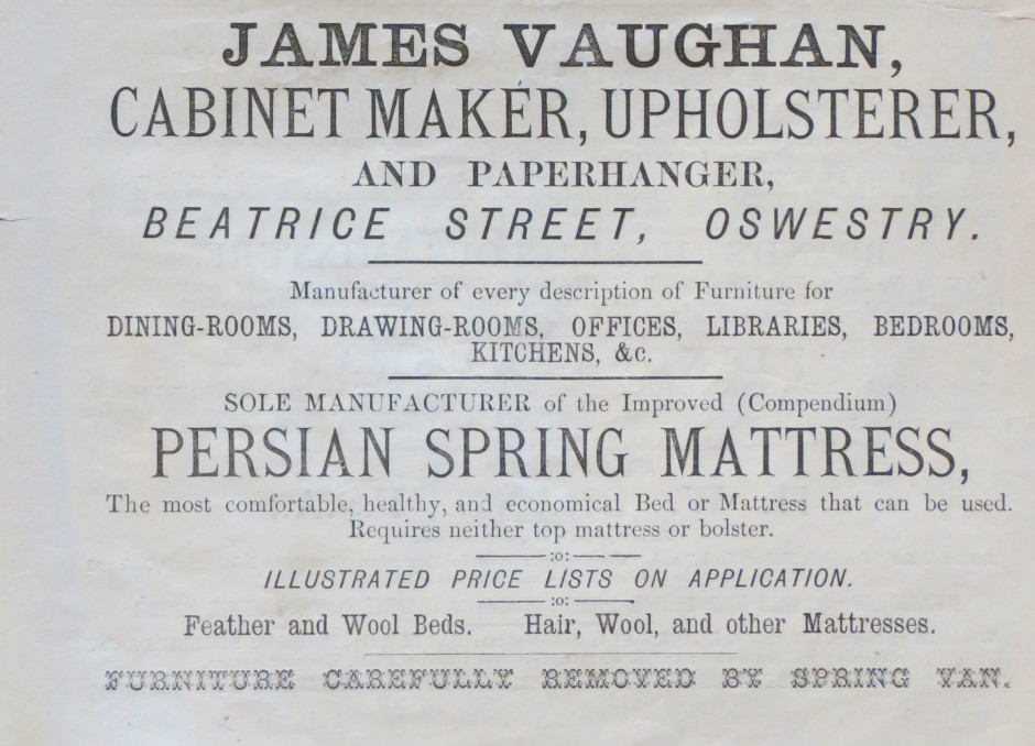 NP-O-5-4-19 - James Vaughan Advert 1873
