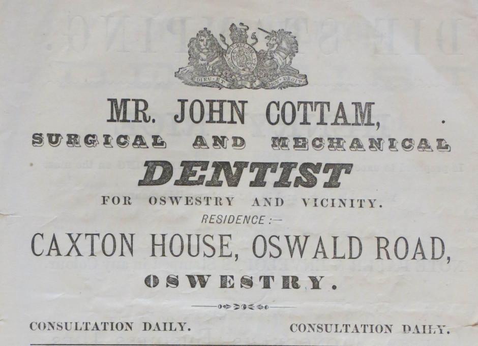 NP-O-5-59-13 - John Cottam - Dentist