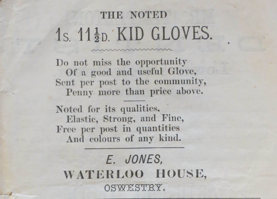 NP-O-5-6-174 - E Jones Waterloo House Church Street 1873