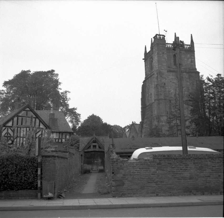Neg-O-5-6-169 - Priddle Gate Parish Church 1964