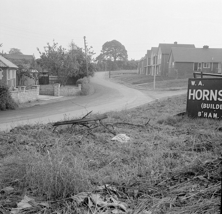 Neg-O-5-78-6 - Crosewylan Lane off Morda Road 1963