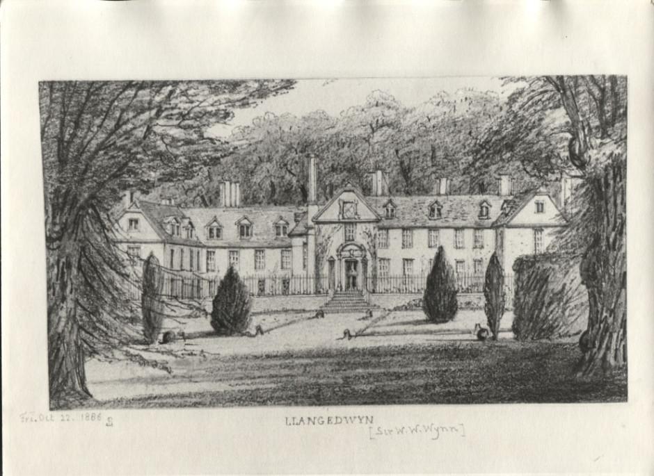 PH-L-111-1 Llangedwyn House 1886