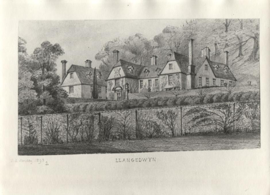 PH-L-111-2 Llangedwyn House 1893
