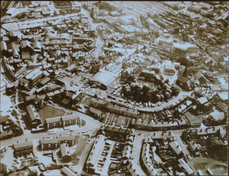 PH-O-5-1-84 - Aerial Map of Oswestry no date