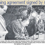 PH-O-5-46-10 - Mayor signs twinning agreement 1961