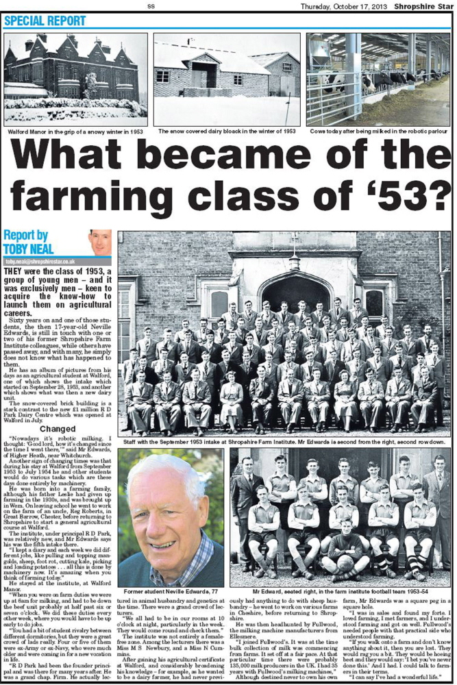 NP-O-5-15-207 - Neville Edwards Agricultural College 1953