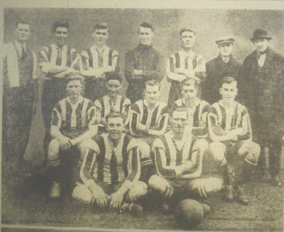 NP-Sport-19 - Treflach team v Llanrhaiadr - April 1932