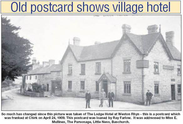 NP-W-39-30 - Lodge Hotel Weston Rhyn 1909