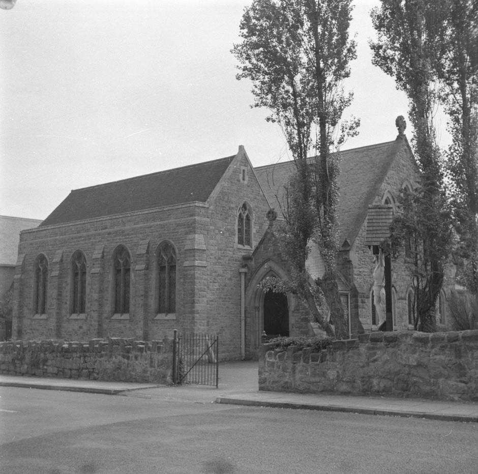Neg-O-5-25-21 - Catholic Church 1964