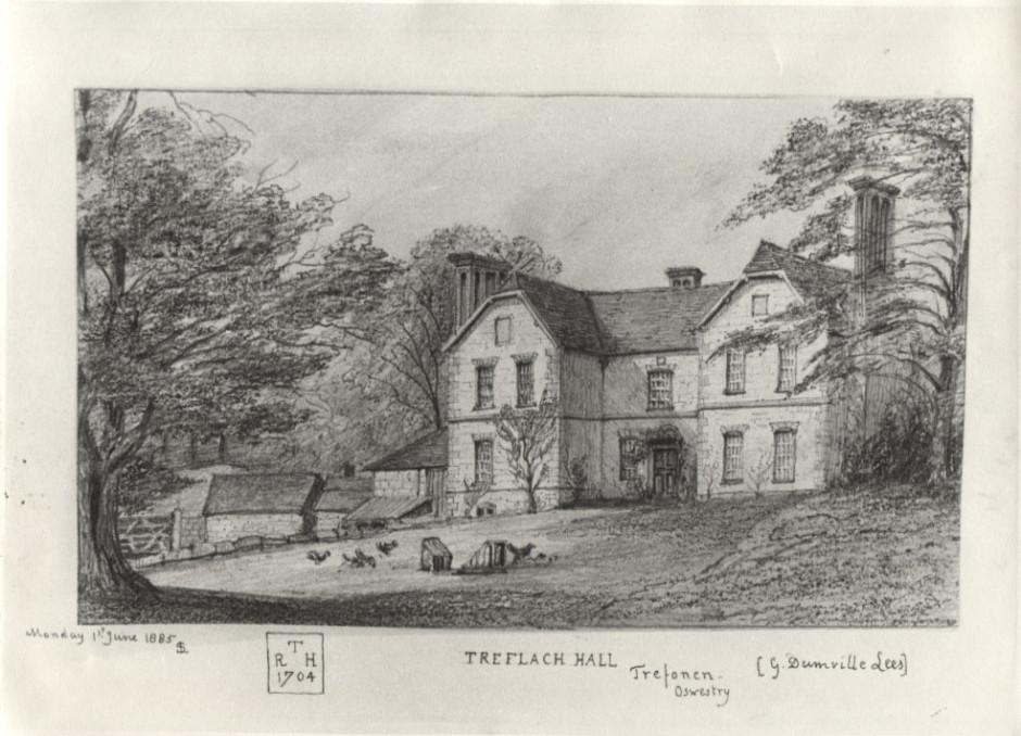 PH-T-13-7 - Treflach Hall 1885