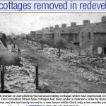 NP-C-14-41 - Mining Cottages demolished Chirk Green