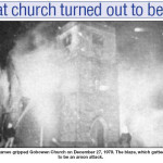 NP-G-1-123 - Gobowen Church Fire December 1979