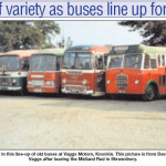 NP-K-108-7 - Buses at Vaggs Motors, Knockin