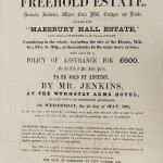 NM-M-3-14 - Maesbury Hall Estate Sale 1861