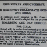 NM-O-63-4 - Oswestry Collegiate School 1884