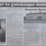 NP-B-28-33 - Brogyntyn Hall Gamekeeper