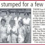 NP-Sport-90 - Knockin Ladies Cricket