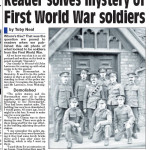 NP-P-30-47 - WW1 Soldiers in Oswestry