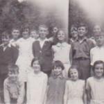 NP-O-5-10-19 - Morda School children c1930