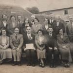 NM-O-5-10-24 - Morda School Staff & Local People - Silver Jubilee Committee 1935