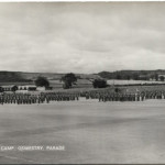 NM-P-30-54 - Soldiers on Parade, Park Hall Camp
